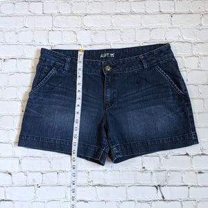 Apt. 9 Shorts - Apt. 9 Modern Blue Denim Jean Shorts